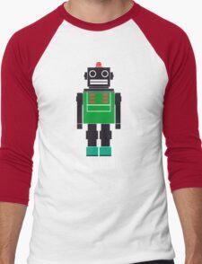 Paranoid Android Radiohead Tshirt Men's Baseball ¾ T-Shirt