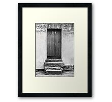 Steps to a Door Framed Print