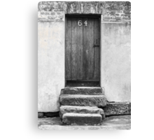 Steps to a Door Canvas Print