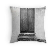 Steps to a Door Throw Pillow