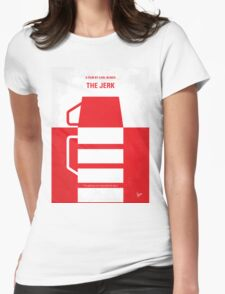 No350 My The Jerk minimal movie poster Womens Fitted T-Shirt