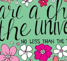 Child of the Universe Sticker
