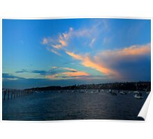 Rose Bay on Fire Poster