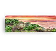Queensland Sunrise Panorama Canvas Print