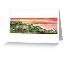 Queensland Sunrise Panorama Greeting Card
