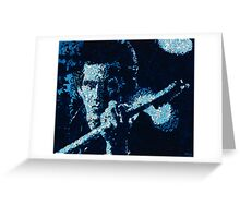 Keith Richards Greeting Card