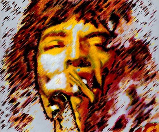 Mick Jagger by Barry Novis