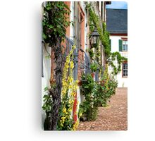 German Monastery Canvas Print