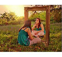 Mirror Mirror Photographic Print