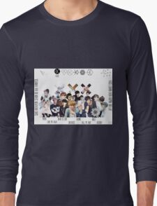 EXO - Collage Long Sleeve T-Shirt