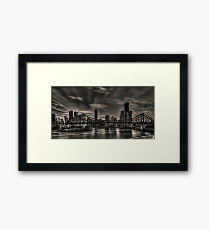 Sky rush Framed Print