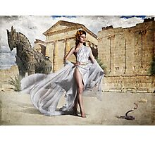 Goddess Of Troy Photographic Print