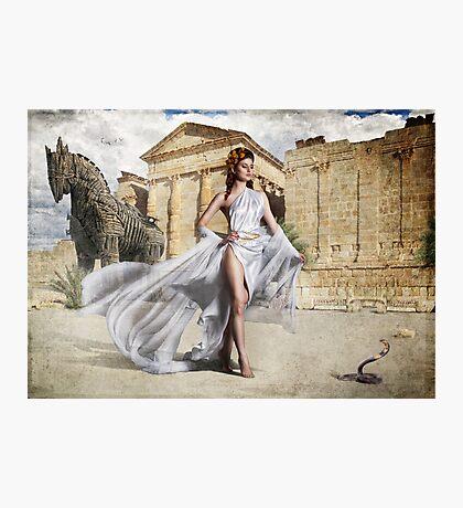 Goddess Of Troy Photographic Print