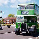Vintage Bristol Bus by funkybunch