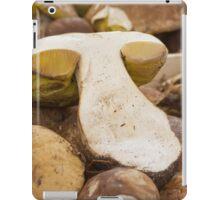 mushroom at market iPad Case/Skin