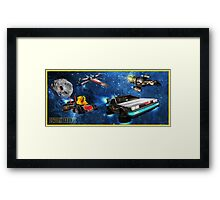 Parzival Departing Falco - Ready Player One Framed Print