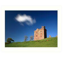 Balvaird Castle Art Print