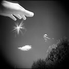 Lending a hand to a garden fairy by sandybirze