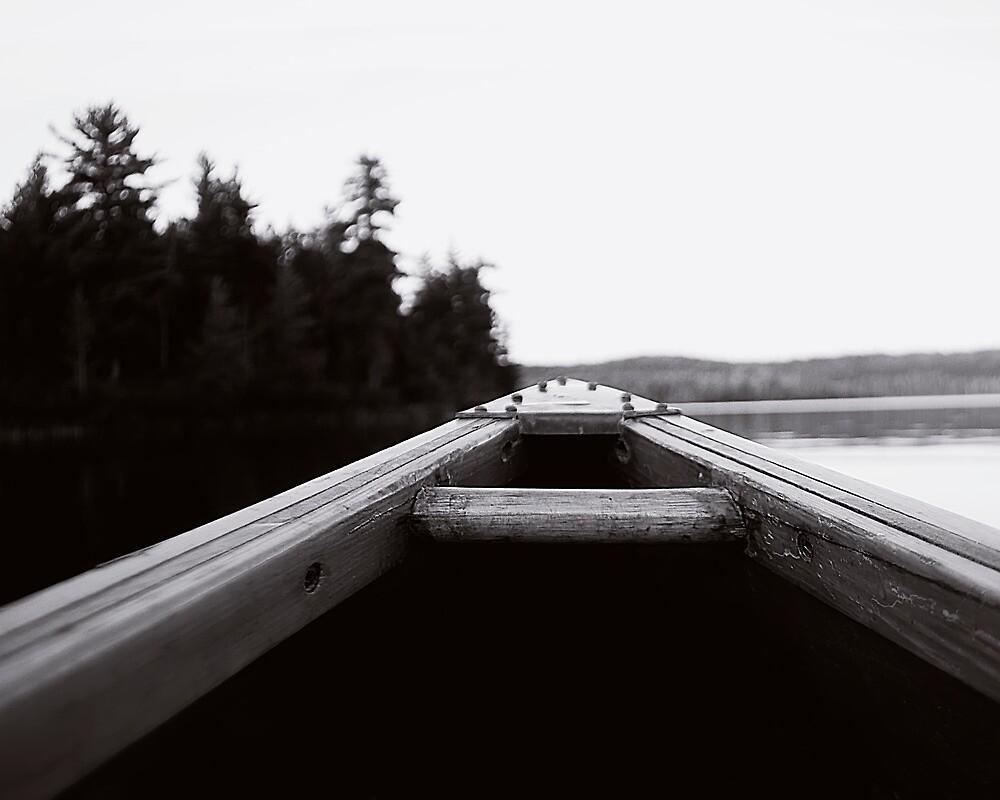 BOW to the canoe by JimSanders