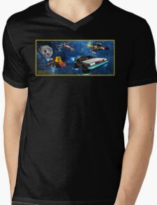 Parzival Departing Falco - Ready Player One Mens V-Neck T-Shirt