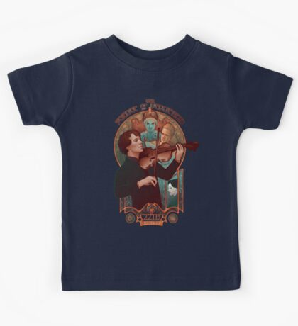 The Science of Deduction Kids Tee