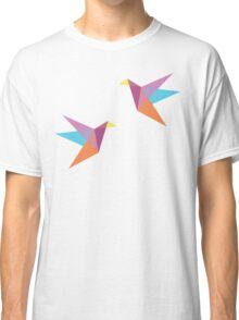 Pastel Paper Cranes Classic T-Shirt