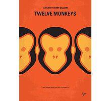 No355 My 12 MONKEYS minimal movie poster Photographic Print