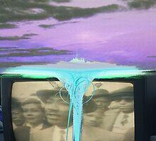strange waterfall aka (un)reality tv by sunnymood