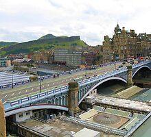 From Room 422, the Balmoral Hotel, Edinburgh by artwhiz47