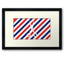 Barber Scissors Framed Print