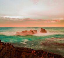 Glowing Sea by Eric Platz
