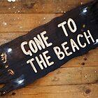 Gone to the beach by Roxy J