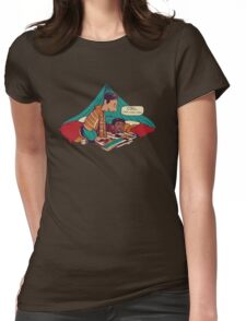 Troy and Abed's Dope Adventures Womens Fitted T-Shirt