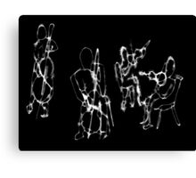 String String Quartet Canvas Print