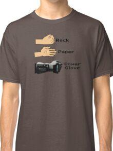 Rock Paper Powerglove Classic T-Shirt