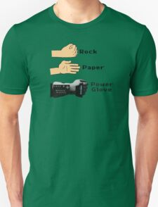 Rock Paper Powerglove Unisex T-Shirt