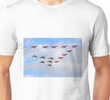 75 Years Tribute -  Battle of Britain Flypast Duxford Unisex T-Shirt
