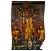He's a big Buddha. Poster
