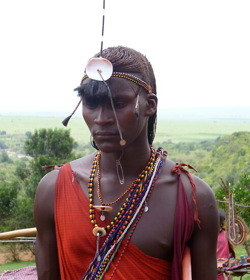 Masai Mara Warrior by Braedene