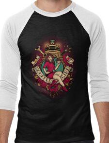 Souffle Girl Men's Baseball ¾ T-Shirt
