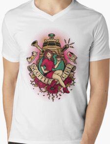 Souffle Girl Mens V-Neck T-Shirt