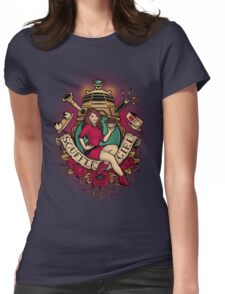 Souffle Girl Womens Fitted T-Shirt