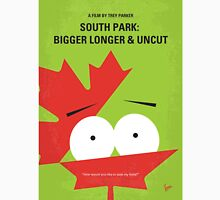 No364 My South Park Bigger Longer Uncut minimal movie poster Unisex T-Shirt