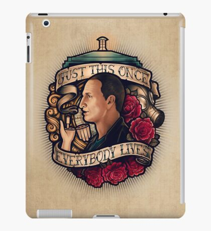 Just This Once iPad Case/Skin