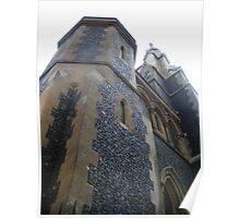 Medieval Church - London, England Poster