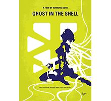 No366 My Ghost in the Shell minimal movie poster Photographic Print