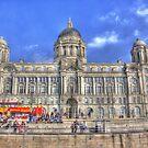 Port of Liverpool Building by Debu55y