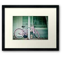 To Cruise the Beach Framed Print