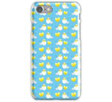 Chicks in eggs for Easter iPhone Case/Skin