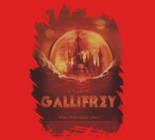 Travel To...  Gallifrey! Kids Clothes